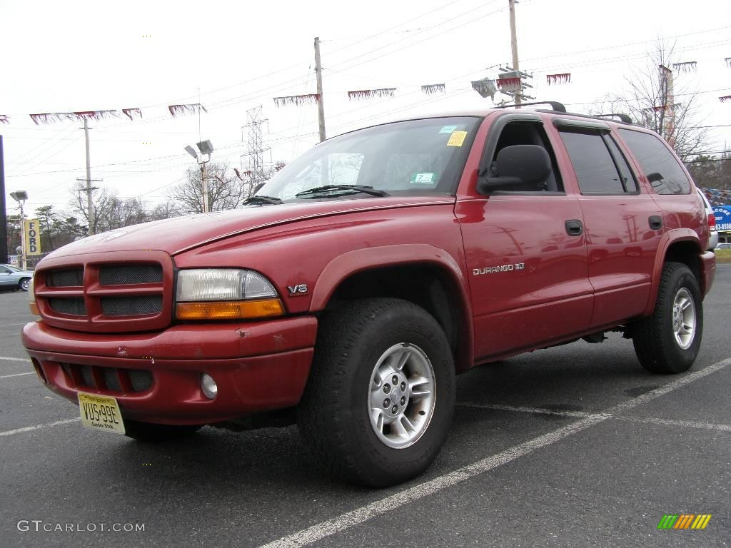1998 chili pepper red dodge durango slt 4x4 22573559. Black Bedroom Furniture Sets. Home Design Ideas