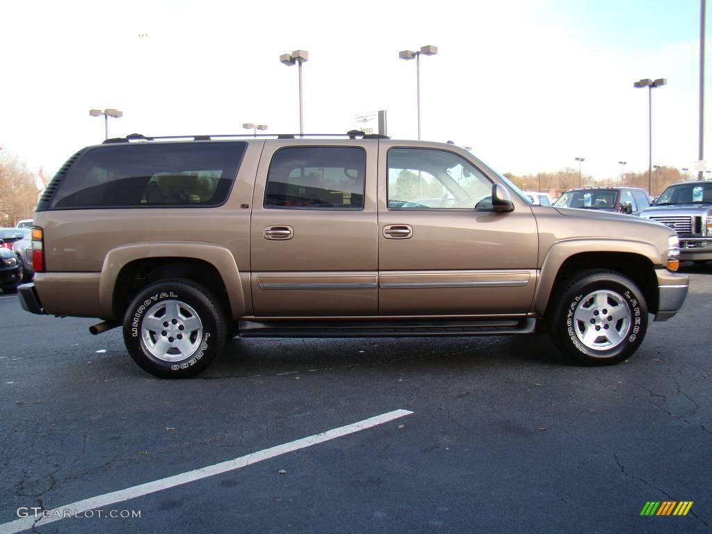 2004 Sandalwood Metallic Chevrolet Suburban 1500 LT ...