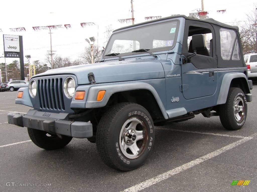 1999 gunmetal pearlcoat jeep wrangler se 4x4 22573546. Black Bedroom Furniture Sets. Home Design Ideas