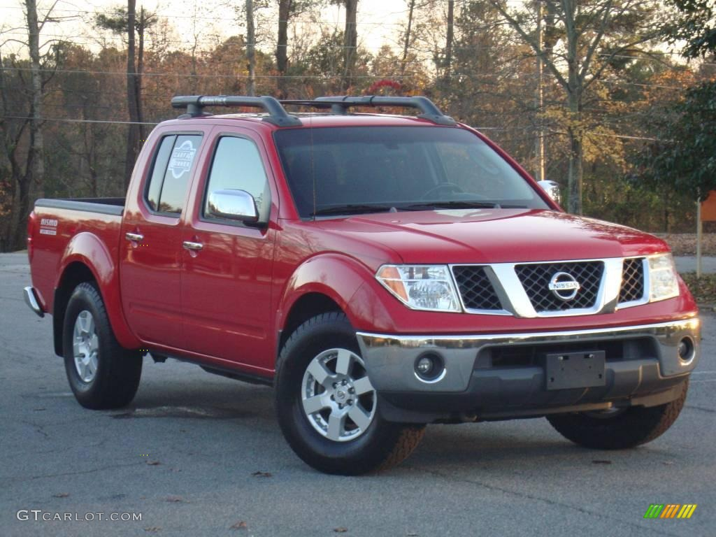 2005 Aztec Red Nissan Frontier Nismo Crew Cab 22558998 Car Color Galleries