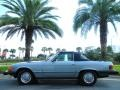 Light Blue Metallic 1977 Mercedes-Benz SL Class 450 SL roadster