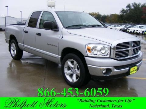 2007 Dodge Ram 1500 Lone Star Edition Quad Cab Data, Info and Specs