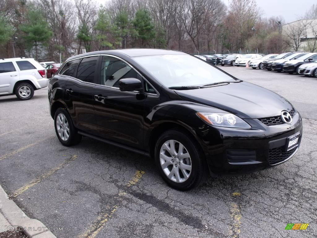 2007 brilliant black mazda cx 7 sport 22564414 gtcarlot. Black Bedroom Furniture Sets. Home Design Ideas