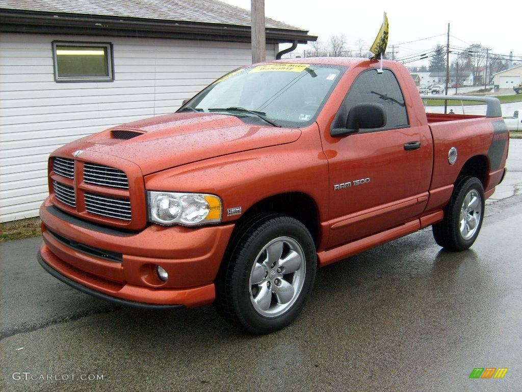 2005 go mango dodge ram 1500 slt daytona regular cab 4x4. Black Bedroom Furniture Sets. Home Design Ideas