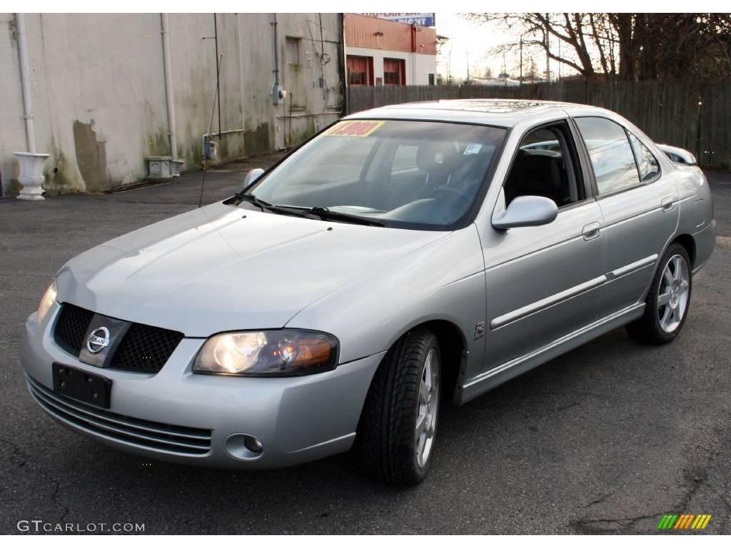 All Types 2004 sentra : 2004 Molten Silver Nissan Sentra SE-R Spec V #22671891 | GTCarLot ...