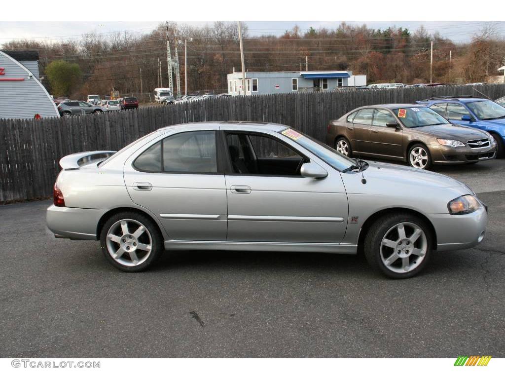 All Types 2004 sentra : 2004 Molten Silver Nissan Sentra SE-R Spec V #22671891 Photo #4 ...