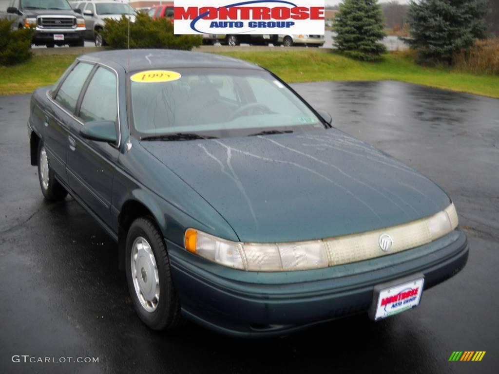 1995 portofino blue metallic mercury sable gs sedan. Black Bedroom Furniture Sets. Home Design Ideas