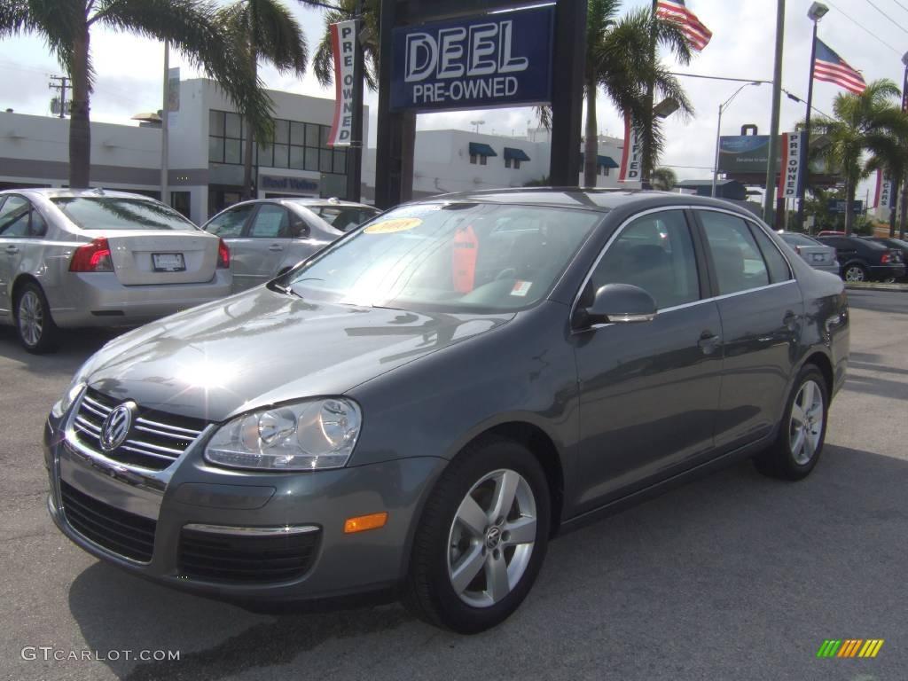 2008 Platinum Grey Metallic Volkswagen Jetta SE Sedan #22674097 Photo #11 | GTCarLot.com - Car ...