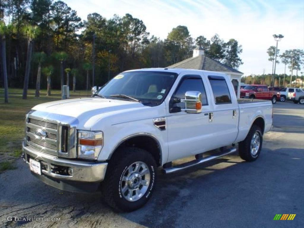 Oxford white ford f250 super duty