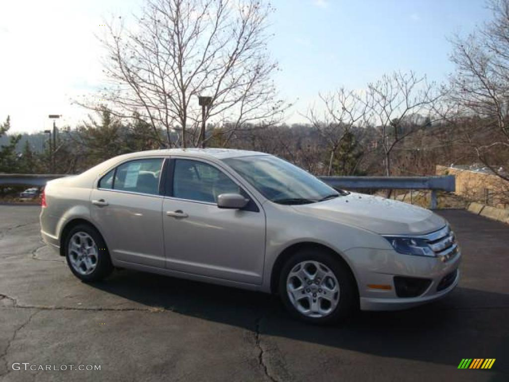 2010 Fusion SE - Smokestone Metallic / Medium Light Stone photo #1