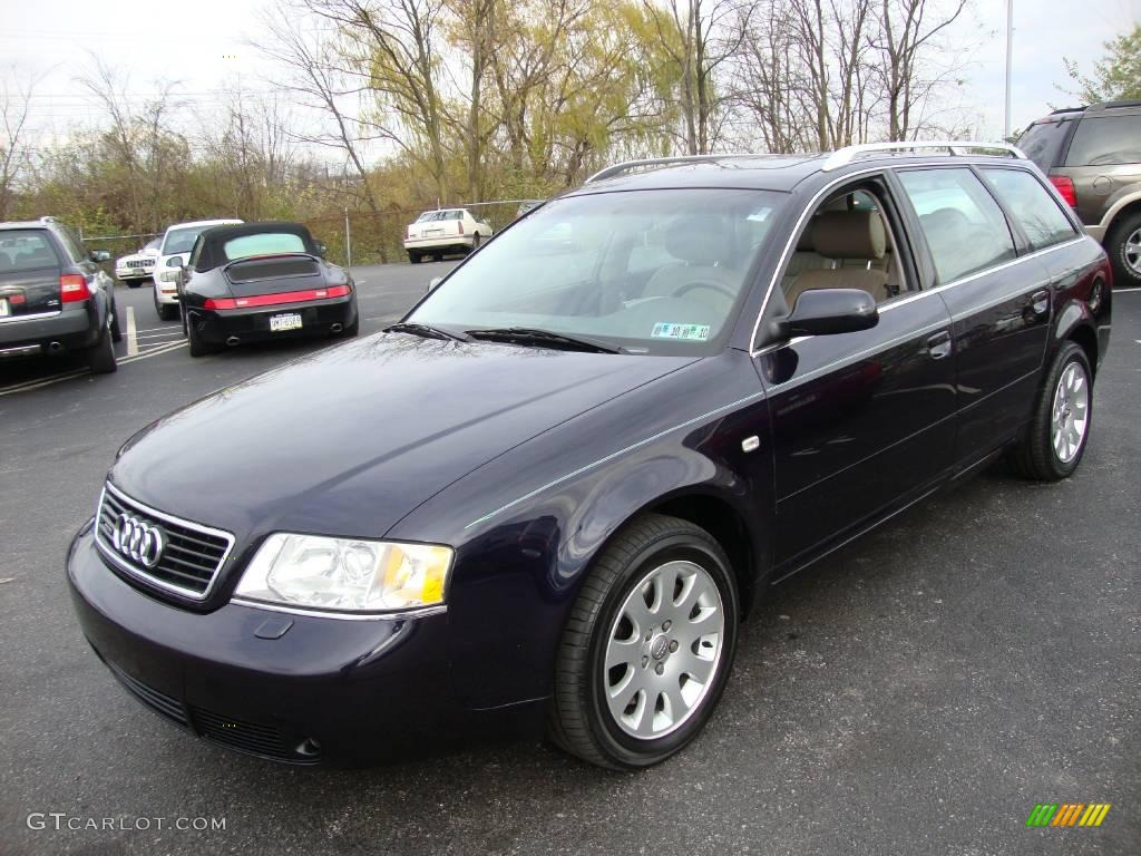 2001 ming blue pearl effect audi a6 2 8 quattro avant. Black Bedroom Furniture Sets. Home Design Ideas