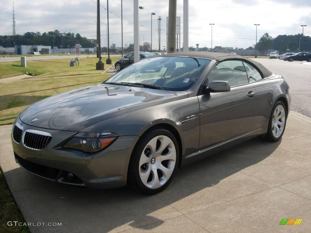 2007 stratus grey metallic bmw 6 series 650i convertible 22842287 car color. Black Bedroom Furniture Sets. Home Design Ideas