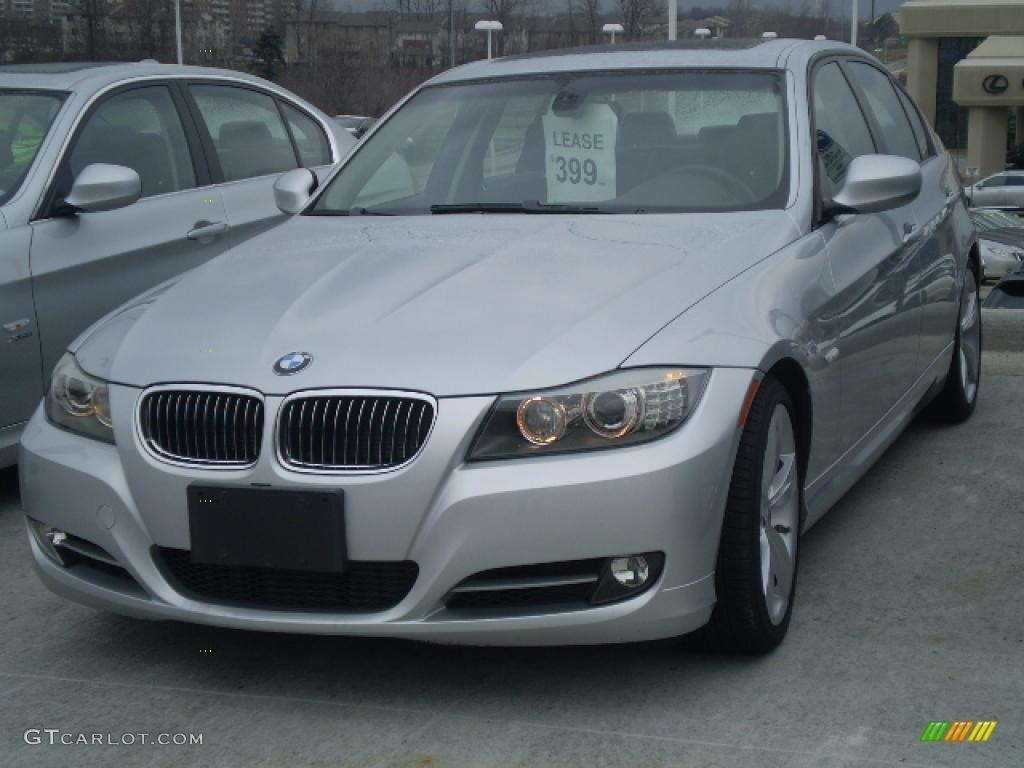 Titanium Silver Metallic BMW Series I Sedan - 2009 bmw 325xi
