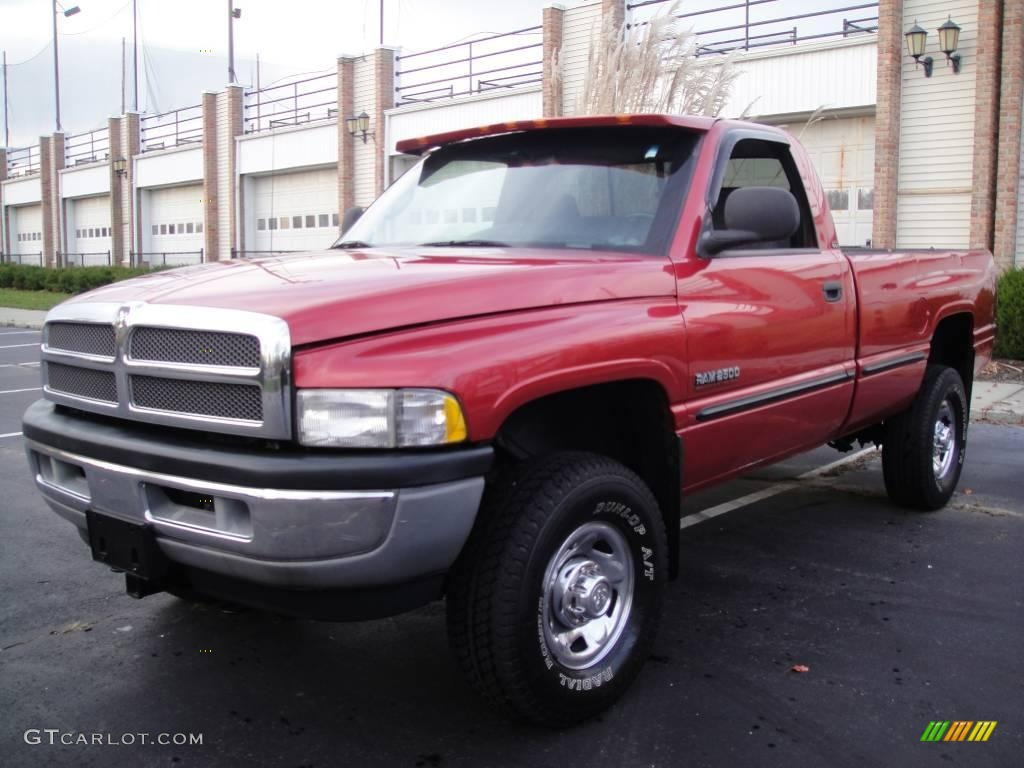 1999 Red Metallic Dodge Ram 2500 Slt Regular Cab 4x4 22845110 Car Color Galleries