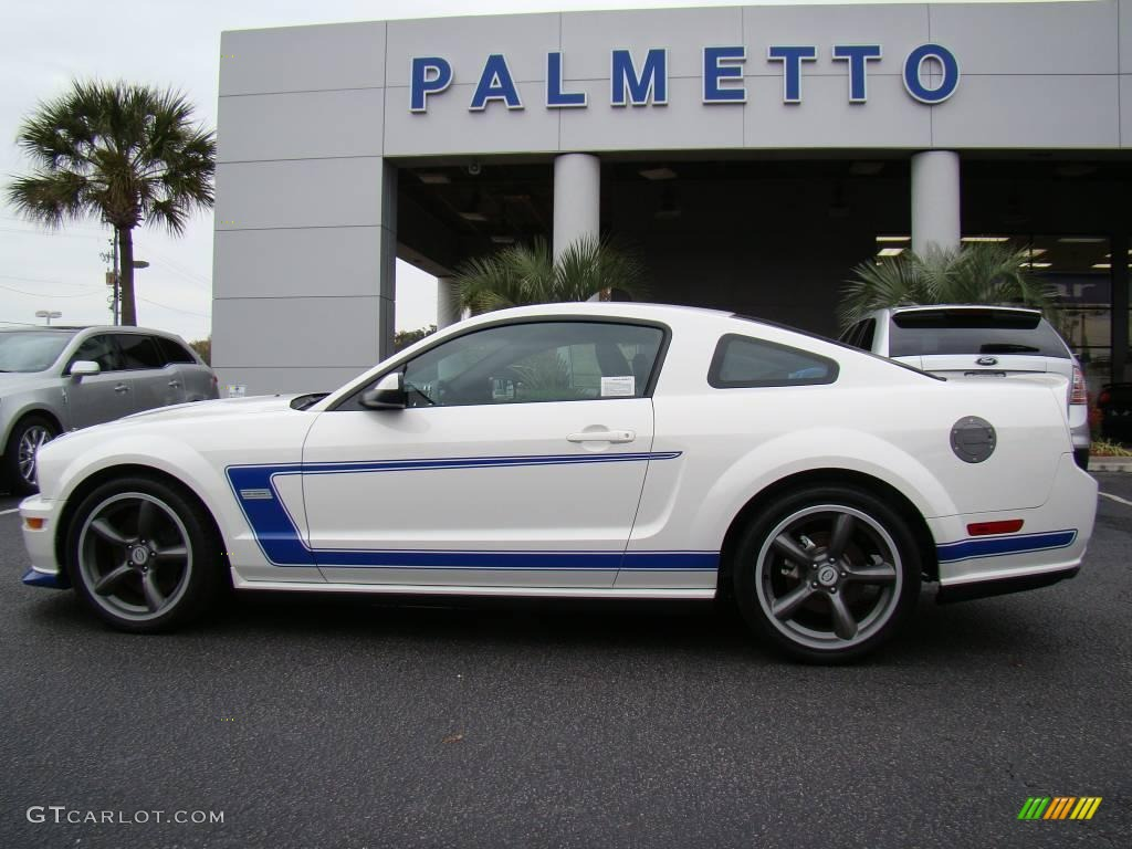 2008 performance white ford mustang saleen dan gurney edition 22984680 car. Black Bedroom Furniture Sets. Home Design Ideas