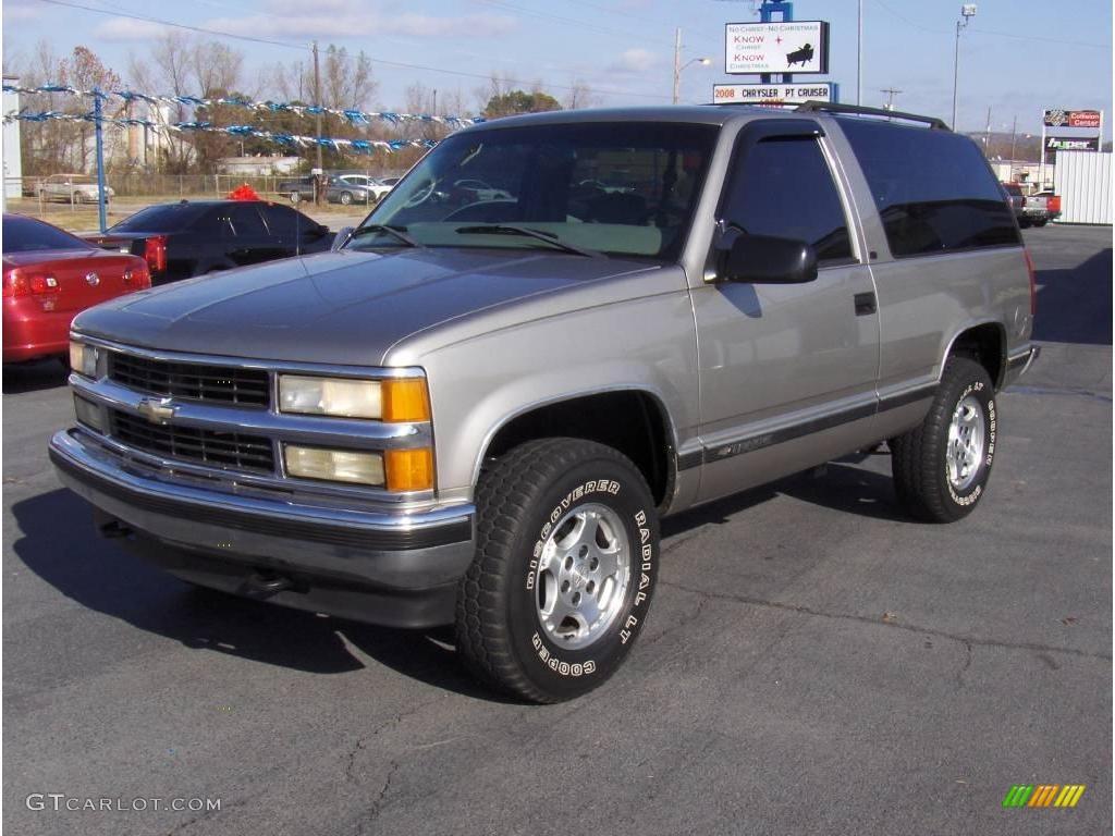 1999 Light Pewter Metallic Chevrolet Tahoe LT 4x4 22974726