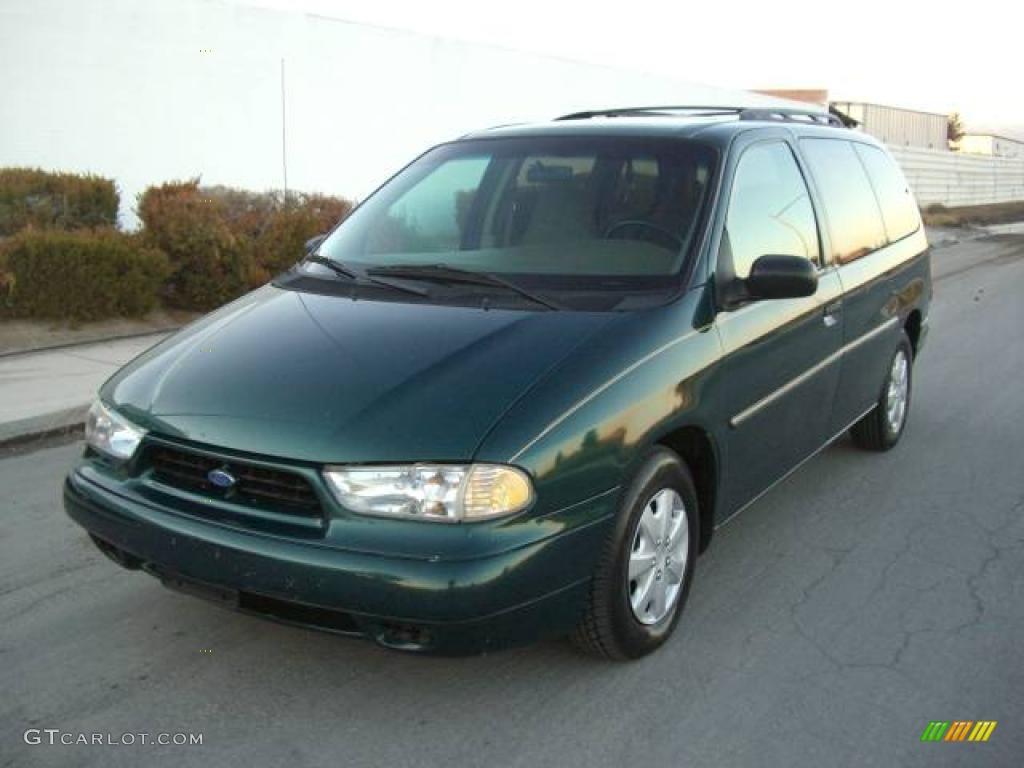 1998 deep emerald green metallic ford windstar gl. Black Bedroom Furniture Sets. Home Design Ideas