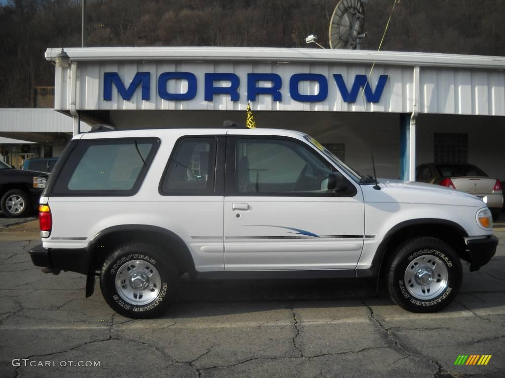 1997 oxford white ford explorer sport 4x4 22978443 car color galleries. Black Bedroom Furniture Sets. Home Design Ideas