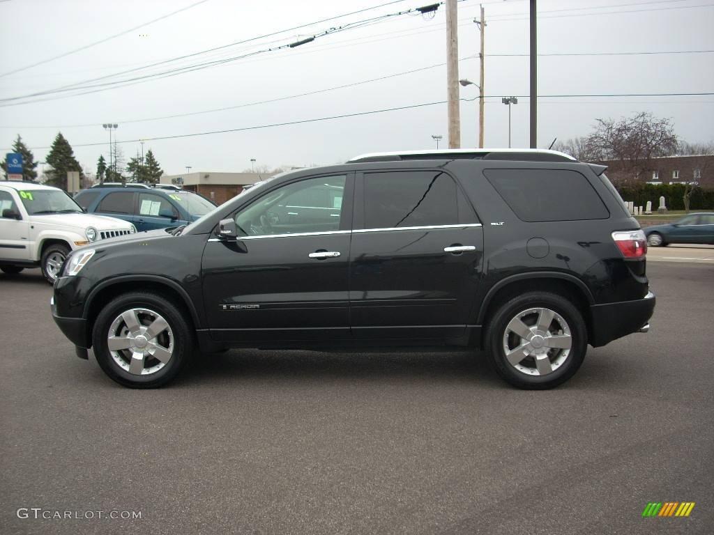 2008 carbon black metallic gmc acadia slt 22990434 car color galleries. Black Bedroom Furniture Sets. Home Design Ideas