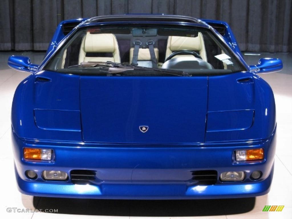 1998 Chiaro Blue Lamborghini Diablo VT Roadster 22994113 Photo 4