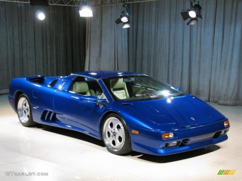 Lamborghini diablo colors