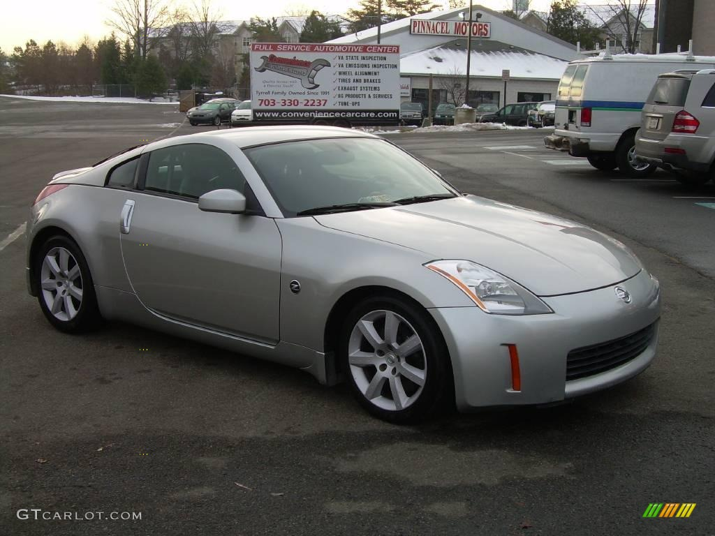 2003 Chrome Silver Nissan 350z Enthusiast Coupe 22977623 Gtcarlot Com Car Color Galleries