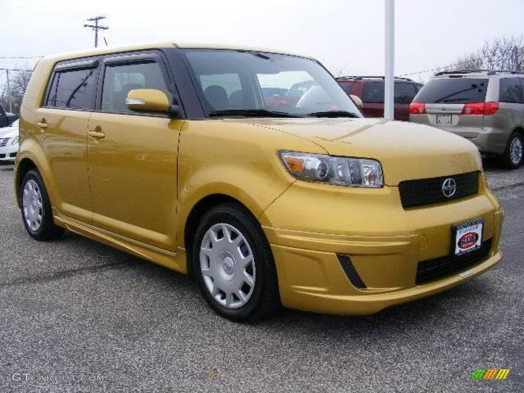 2008 gold rush mica scion xb release series 5 0 22970549 car color galleries. Black Bedroom Furniture Sets. Home Design Ideas
