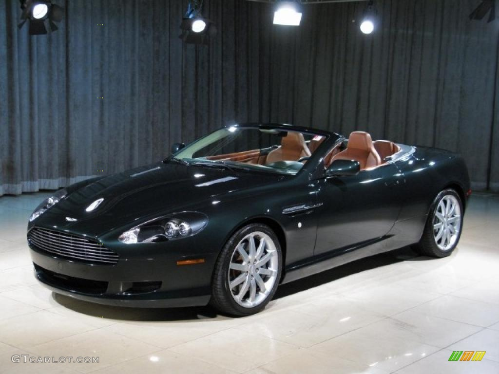 2006 Ghillies Green Aston Martin Db9 Volante 23096114
