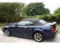 2001 True Blue Metallic Ford Mustang GT Convertible  photo #5
