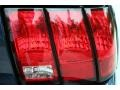 2001 True Blue Metallic Ford Mustang GT Convertible  photo #24