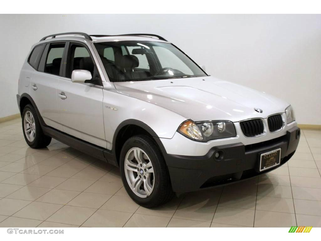2005 titanium silver metallic bmw x3 23093317 car color galleries. Black Bedroom Furniture Sets. Home Design Ideas