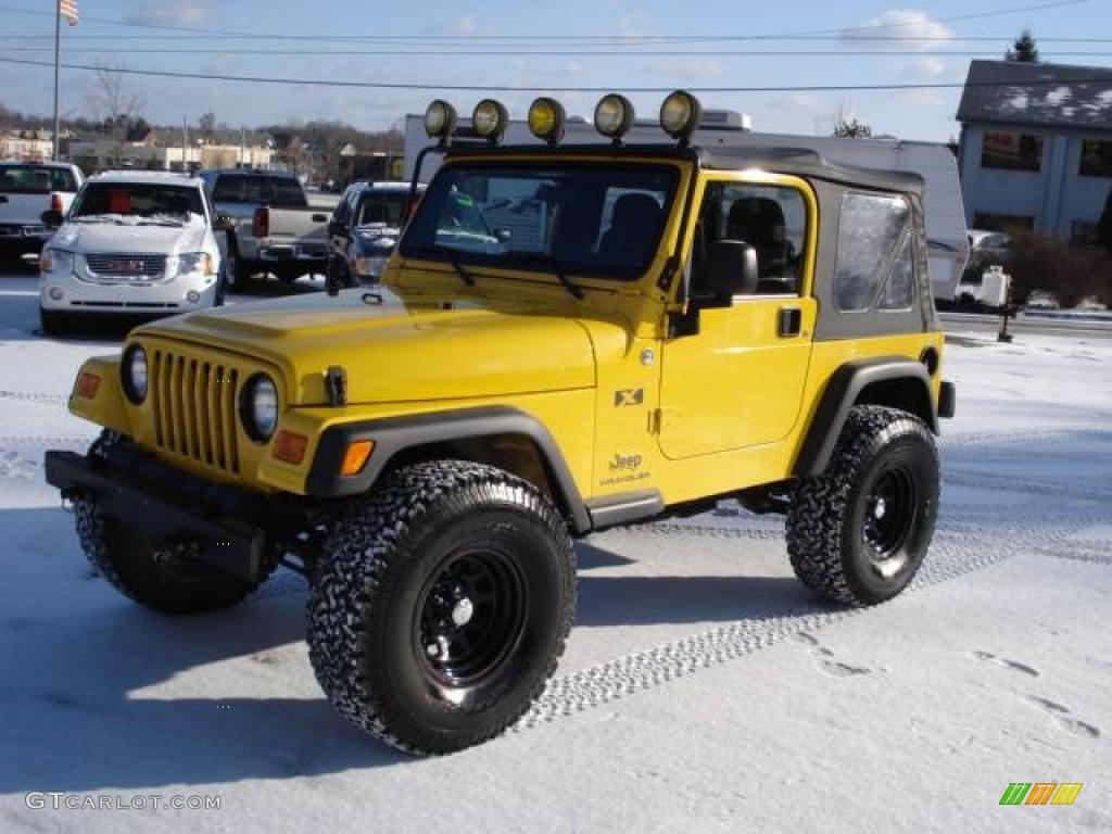 Superior Solar Yellow Jeep Wrangler