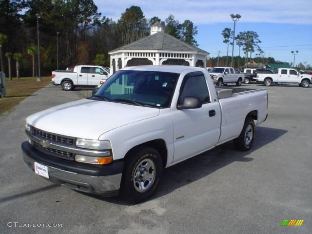 2001 summit white chevrolet silverado 1500 regular cab. Black Bedroom Furniture Sets. Home Design Ideas