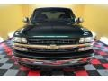 2002 Forest Green Metallic Chevrolet Silverado 1500 LS Extended Cab 4x4  photo #2