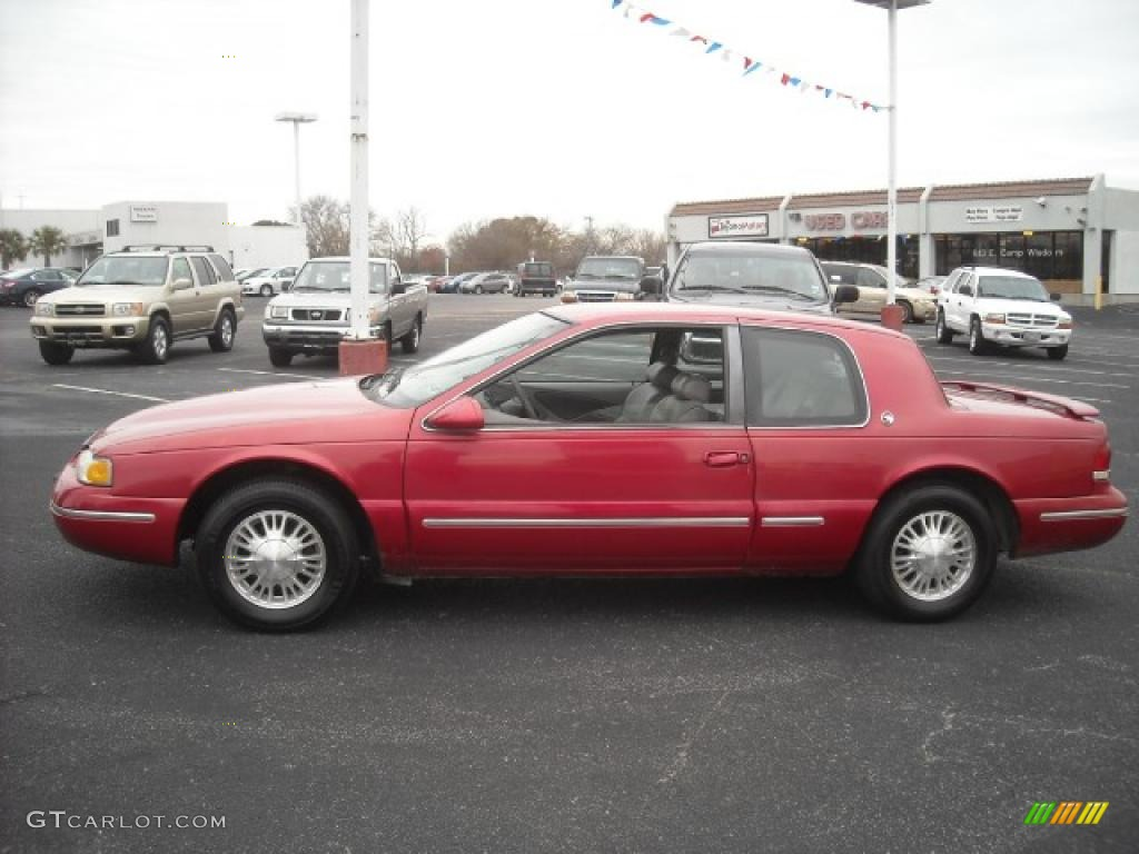 Laser red tintcoat mercury cougar