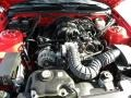 2007 Torch Red Ford Mustang V6 Premium Convertible  photo #16