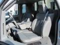 Silver Metallic - F150 XLT Regular Cab 4x4 Photo No. 11