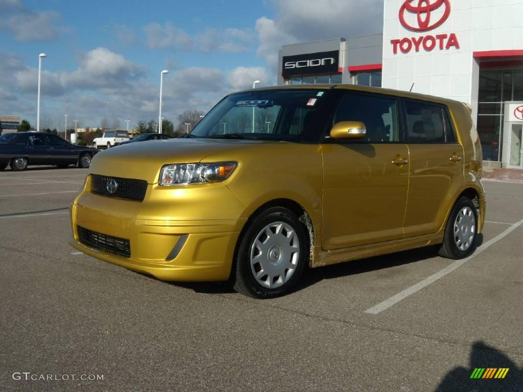 2008 gold rush mica scion xb release series 5 0 23178206 car color galleries. Black Bedroom Furniture Sets. Home Design Ideas