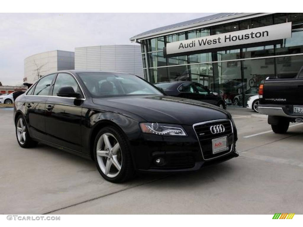 2009 Brilliant Black Audi A4 3.2 quattro Sedan #23264701 ...