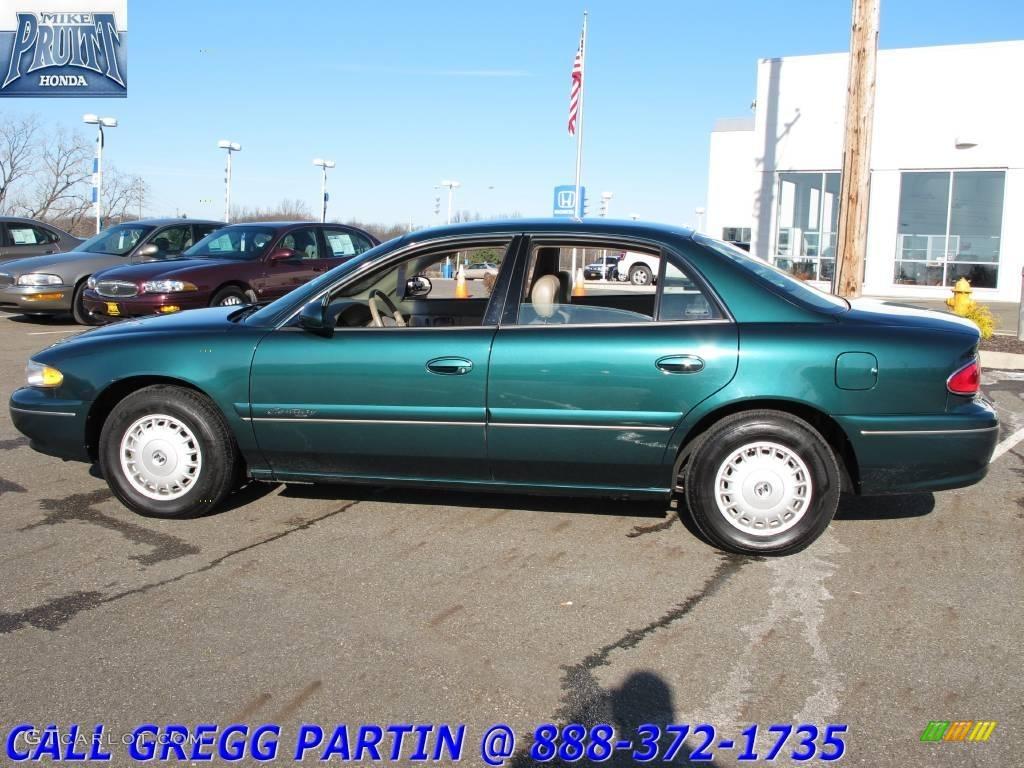 2000 Jasper Green Metallic Buick Century Limited 23252008