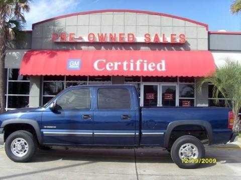2002 Chevrolet Silverado 1500 HD LT Crew Cab Data, Info and Specs