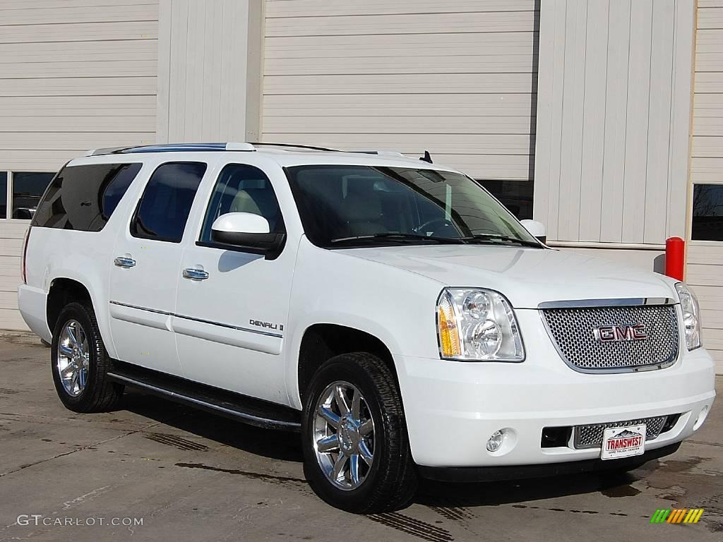 2007 summit white gmc yukon xl denali awd 23253568. Black Bedroom Furniture Sets. Home Design Ideas