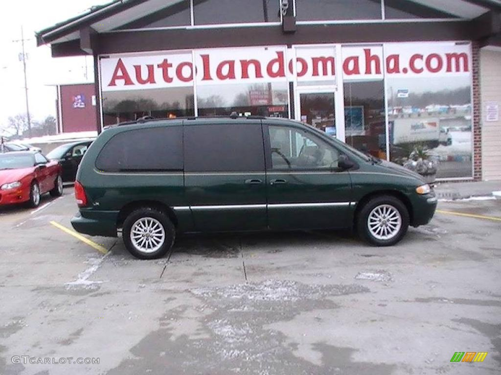 1999 forest green pearl chrysler town country lx 23311585 car color galleries. Black Bedroom Furniture Sets. Home Design Ideas