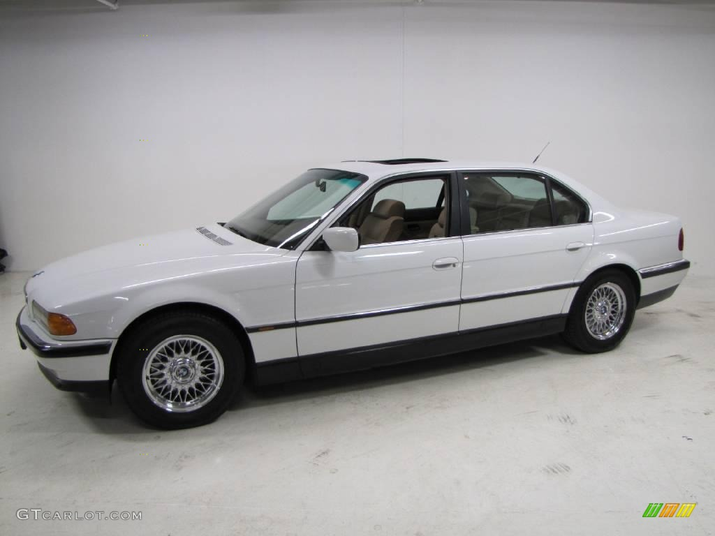 1997 alpine white bmw 7 series 740il sedan 23341153 photo. Black Bedroom Furniture Sets. Home Design Ideas