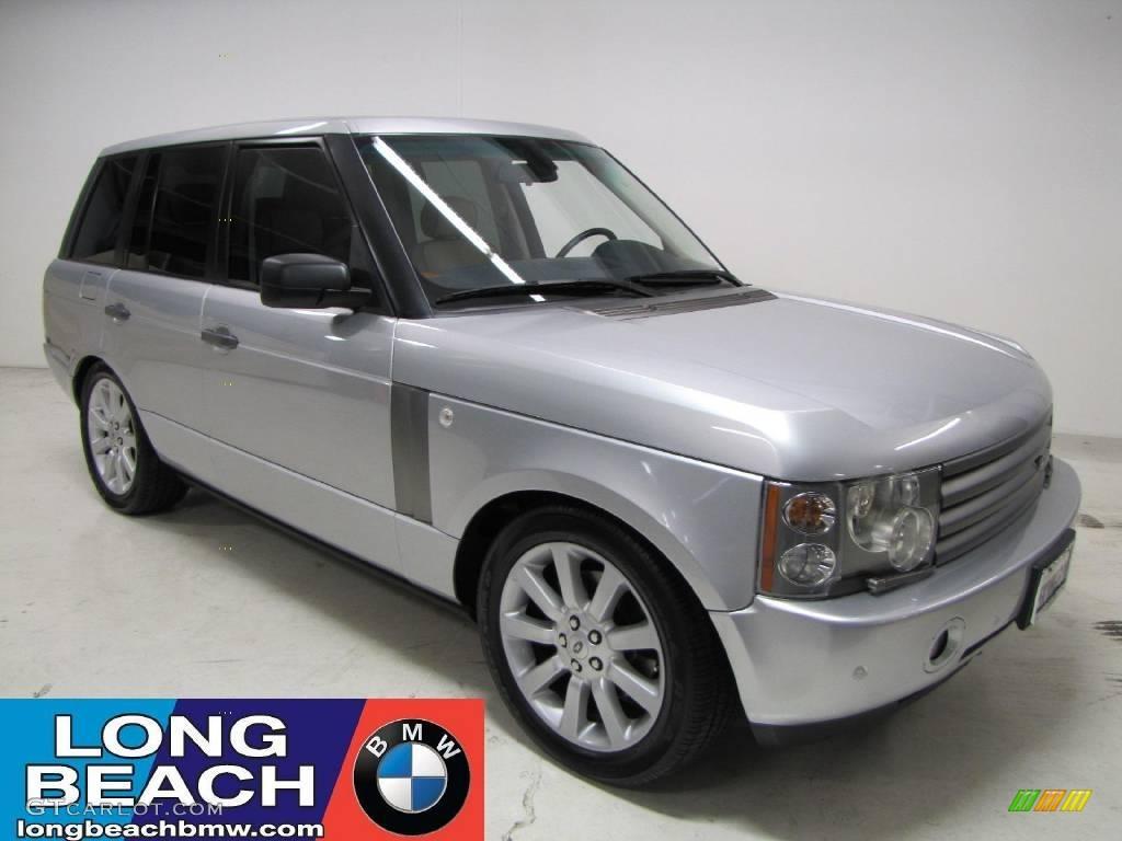 2005 Range Rover HSE - Zambezi Silver Metallic / Sand/Jet photo #1