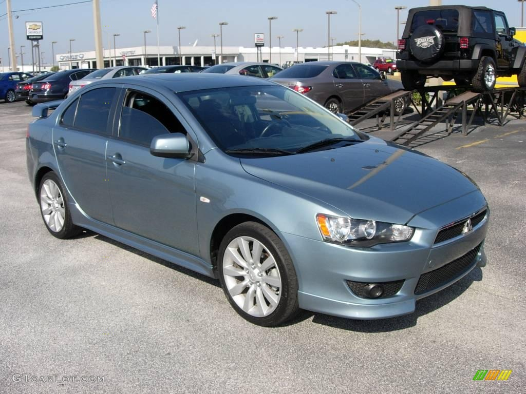 2008 aqua metallic mitsubishi lancer gts 23352233. Black Bedroom Furniture Sets. Home Design Ideas