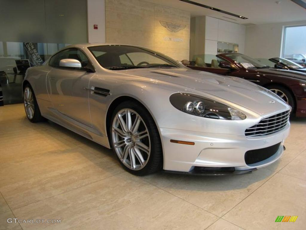 2009 Lightning Silver Aston Martin DBS Coupe 23378238