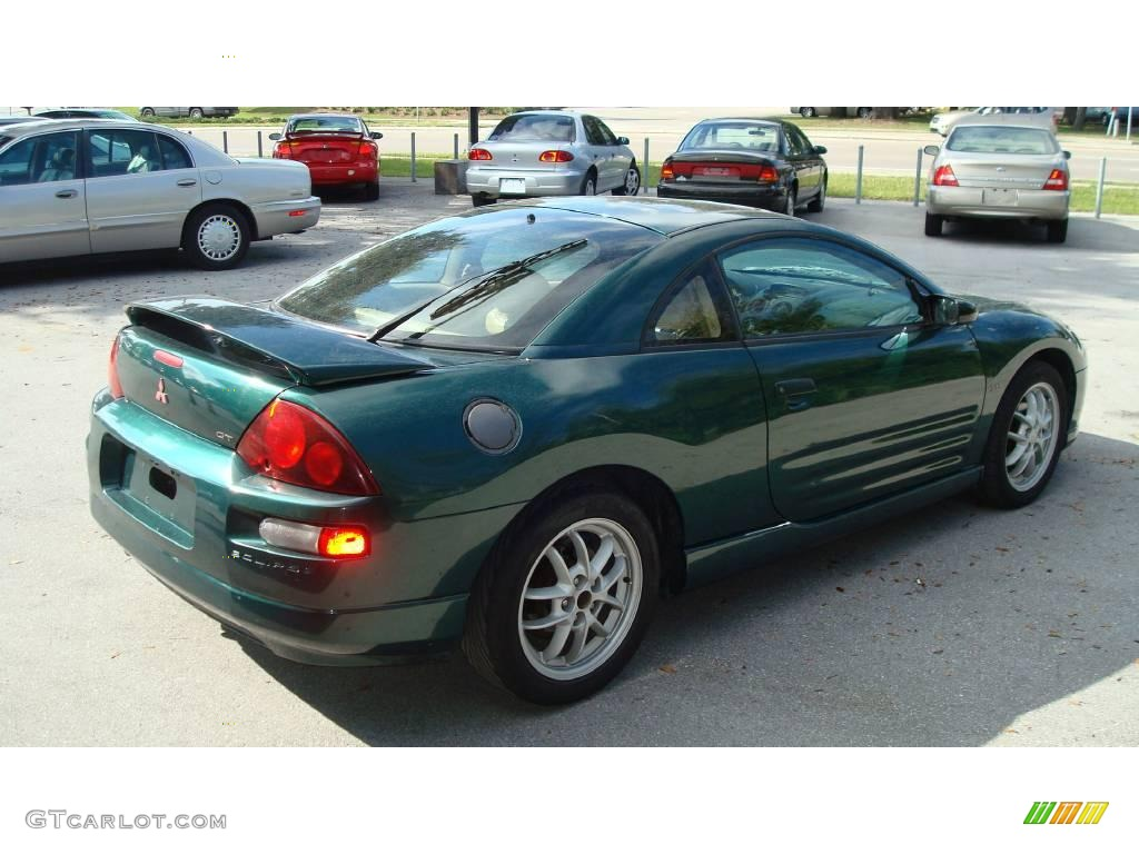 2001 sherwood green pearl mitsubishi eclipse gt coupe. Black Bedroom Furniture Sets. Home Design Ideas