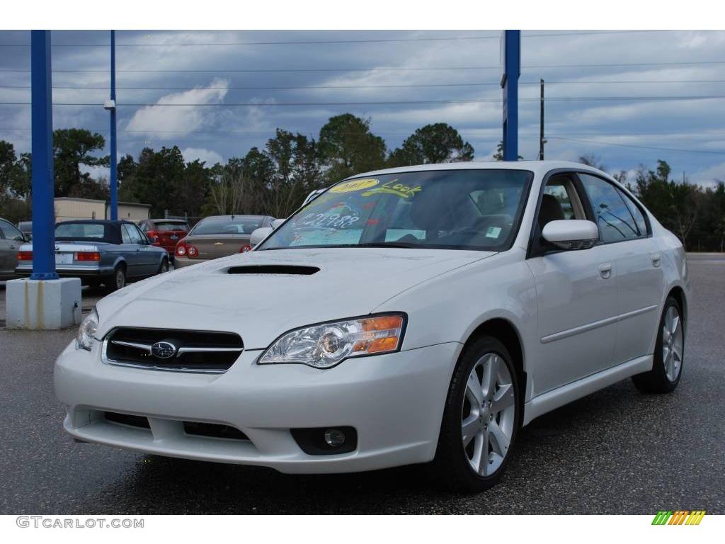 2007 legacy 2 5 gt limited sedan satin white pearl ivory photo 1