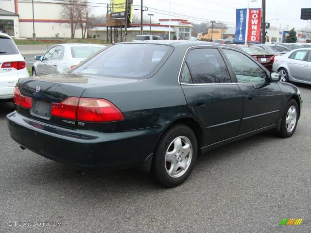 2000 dark emerald pearl honda accord ex v6 sedan 23442714 photo 6 car color. Black Bedroom Furniture Sets. Home Design Ideas